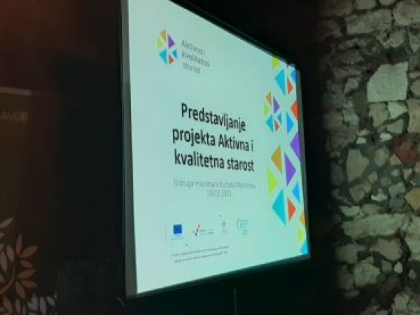 Predstavljanje projekta Aktivna i kvalitetna starost UMKM 10.02.2021. Foto Tatjana Klepo 01