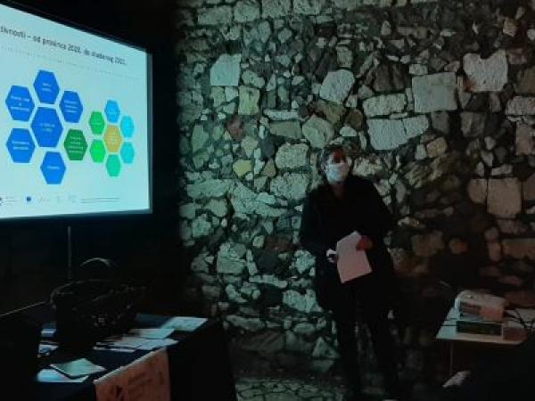 Predstavljanje Aktivna i kvalitetna starost UMKM 10.02.2021. Foto Tatjana Klepo 04