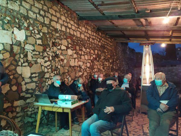 Redovna Izborna Skupština i predstavljanje projekta Aktivna i kvalitetna starost UMKM 10.02.2021. Foto PSG 014