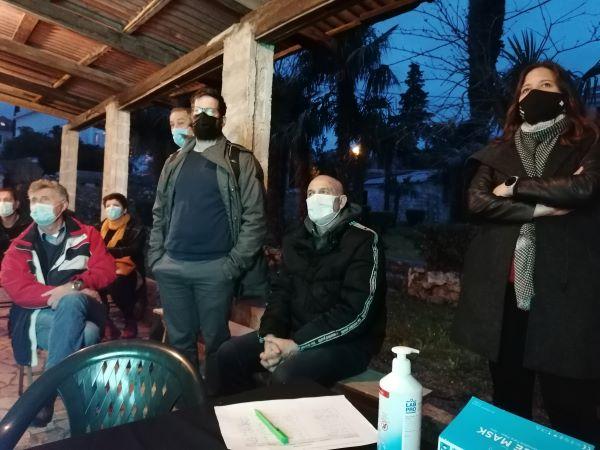 Redovna Izborna Skupština i predstavljanje projekta Aktivna i kvalitetna starost UMKM 10.02.2021. Foto PSG 016