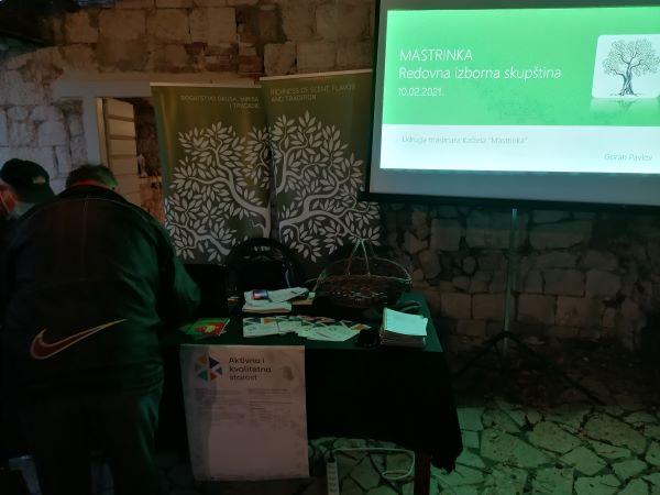 Redovna Izborna Skupština i predstavljanje projekta Aktivna i kvalitetna starost UMKM 10.02.2021. Foto PSG 03