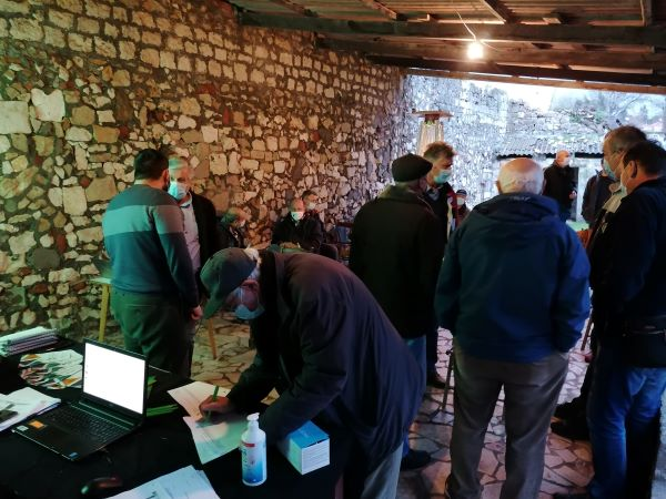 Redovna Izborna Skupština i predstavljanje projekta Aktivna i kvalitetna starost UMKM 10.02.2021. Foto PSG 05